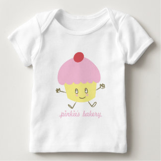 Pinkie's Bakery Cupcake Infant Long Sleeve Baby T-Shirt