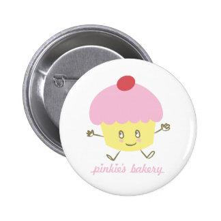 Pinkie's Bakery Cupcake Pin
