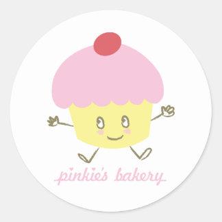 Pinkie's Bakery Cupcake Sticker
