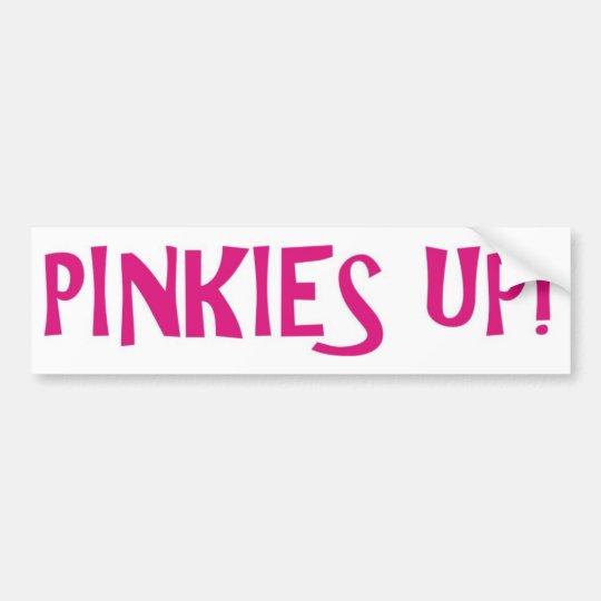 PINKIES PINK BUMPER STICKER