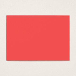Pinkish Orange Business Card