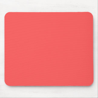 Pinkish Orange Mouse Pad