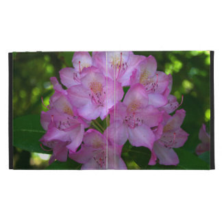 Pinkish purple Rhododendron Catawbiense iPad Folio Cover