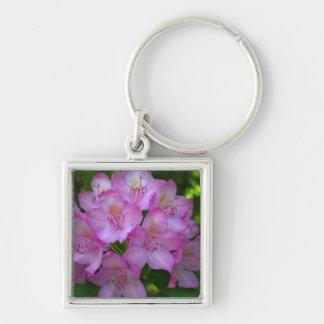 Pinkish purple Rhododendron Catawbiense Key Chains