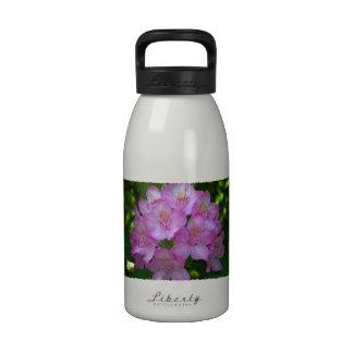 Pinkish purple Rhododendron Catawbiense Water Bottles