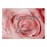 Pinkish Save the Date Greeting Card