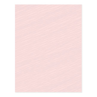 Pinkish striped pattern special gift postcard