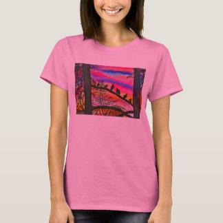Pinkish Sunset in Florence T-Shirt
