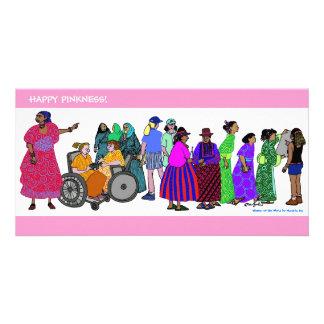 ¡Pinkness feliz! Wow #2 Tarjetas Personales