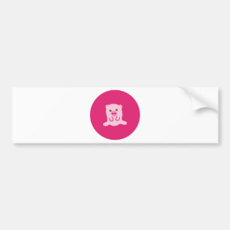 PinkPig4 Bumper Sticker