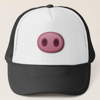 PinkPig Snout Trucker Hat