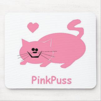 pinkpuss love mouse mats
