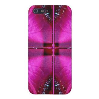 PinkRose Petal Ark - Illuminated Sparkle Cover For iPhone SE/5/5s