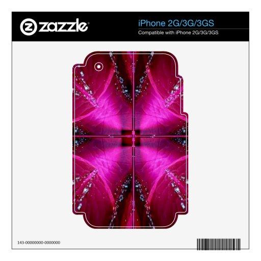 PinkRose Petal Ark - Illuminated Sparkle Skin For The iPhone 2G