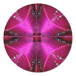 PinkRose Petal Ark - Illuminated Sparkle Stickers
