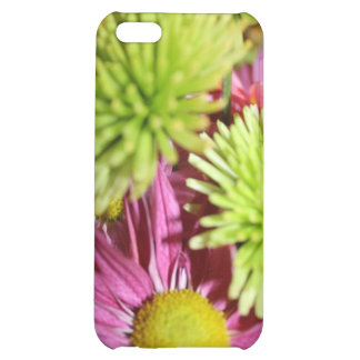 Pinks and Greesn Floral Arrangement Case For iPhone 5C