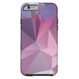 Pinks Blues Abstract Pyramid Pattern Art Tough iPhone 6 Case