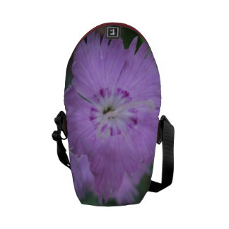 Pinks Close Garden Courier Bags