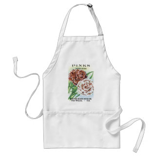 Pinks Double Mixed Wayne Bash Seed Co Adult Apron