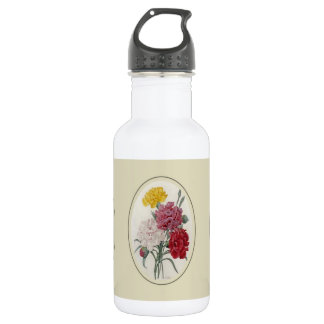 Pinks In A Classic Oval Mount Stainless Steel Water Bottle