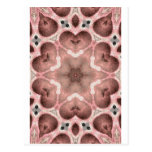 pinks kaleidoscope post cards