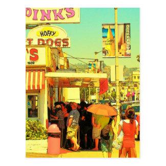 pinks- Postcard