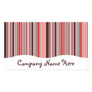 pinks : striped curtain Double-Sided standard business cards (Pack of 100)