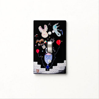 Pink's Wall - Light switch cover