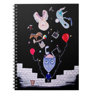 Pink's Wall Notebook
