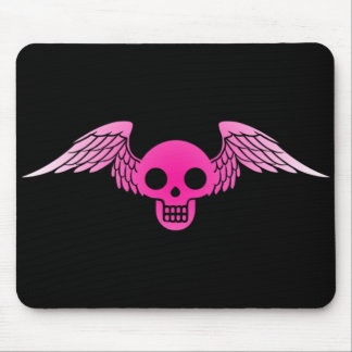 pinkskullmouse mouse pads