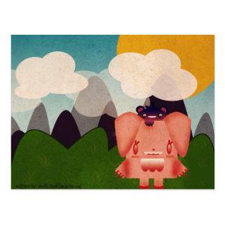 Pinku Eifi Postcard