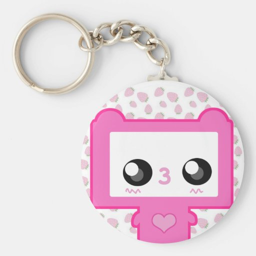 Pinku Mecha Keychain