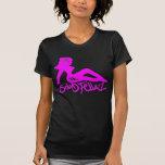 PinkWhite-MudFlap Camiseta