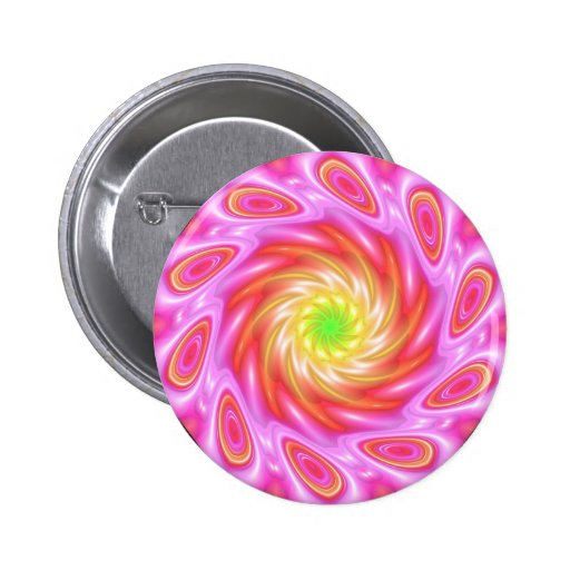 Pinky 2 Inch Round Button