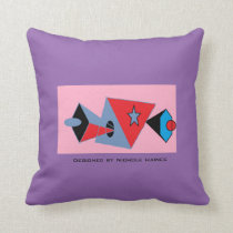 Pinky Abstract Pillow