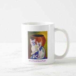 Pinky & Bleu II Coffee Mug