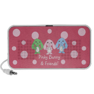 Pinky Bunny & Friends Speakers