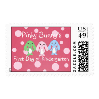 Pinky Bunny & Friends Stamps