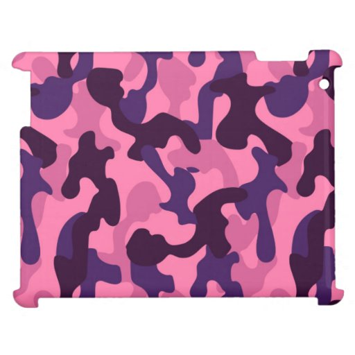 Pinky Camouflage Camo Case For The iPad