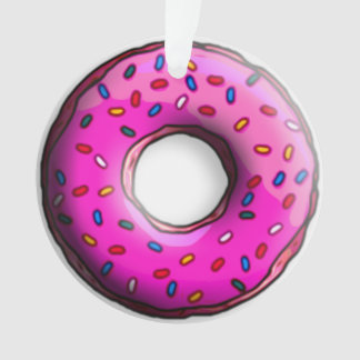 Pinky Donut with colorful sprinkles + your ideas
