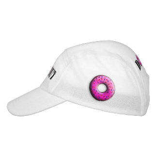 Pinky Donut with colorful sprinkles + your ideas Hat