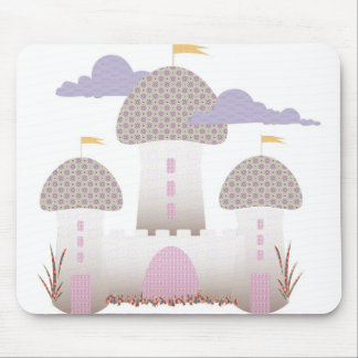 pinky little castle mouse pad
