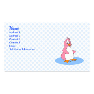 Pinky Penguin Business Card