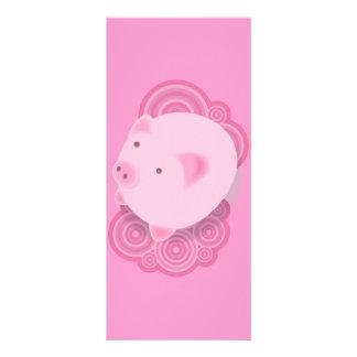 Pinky_Pig Rack Card