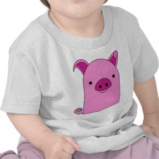 """Pinky Piggy"" Chubby Beeny Buddy Tshirts"