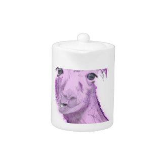 Pinky Posh Llama Teapot