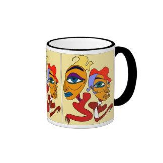 Pinky & Sasha Cup Ringer Coffee Mug