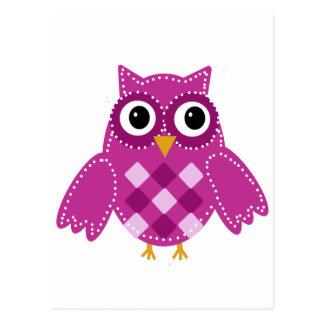 Pinky the Adorable Owl Postcard