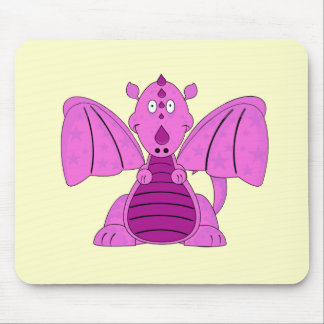 Pinky the Lil Dragon Mousepad