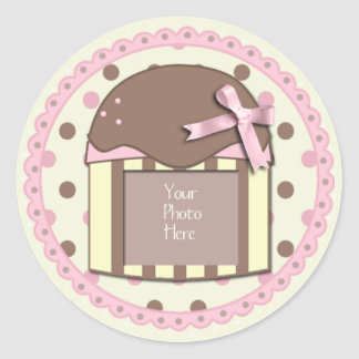Pinky-Yellow & Chocolate Sticker